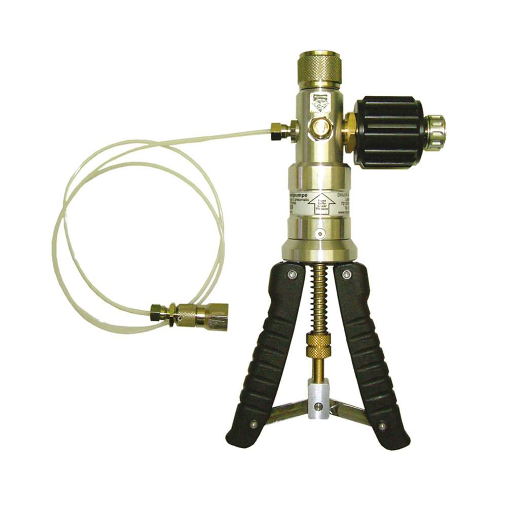 GAMA Control Inc.Test pump, pneumatic
