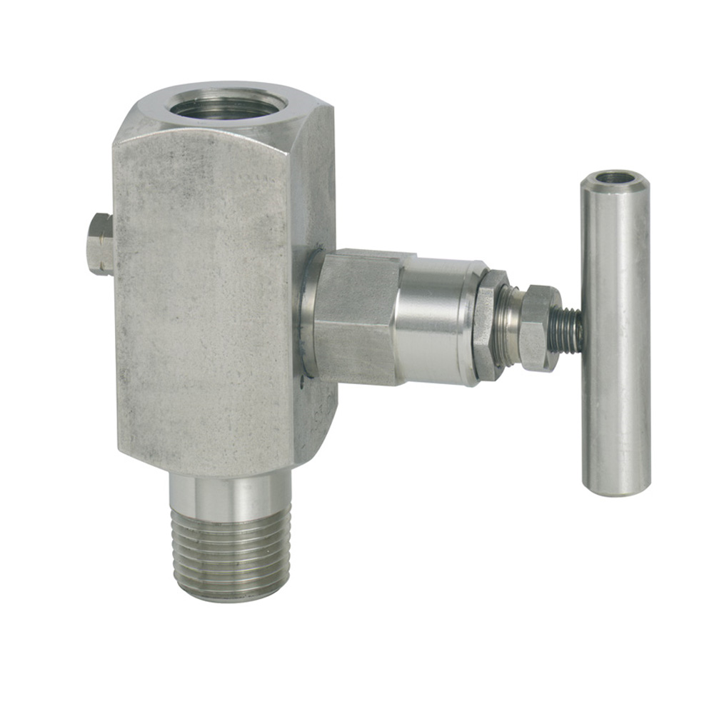 WikaBarstock valve in stainless steel version
