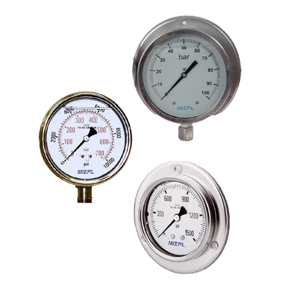 Millennium Instrument Limited  Gly. Filled Gauges